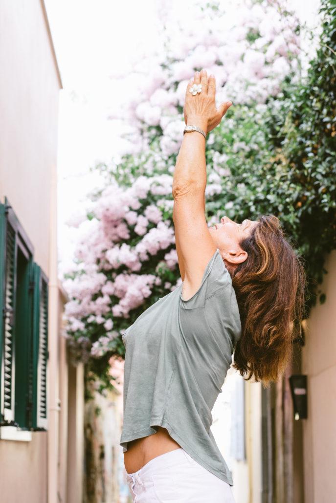 Viviane, enseignante de Arts-Yoga